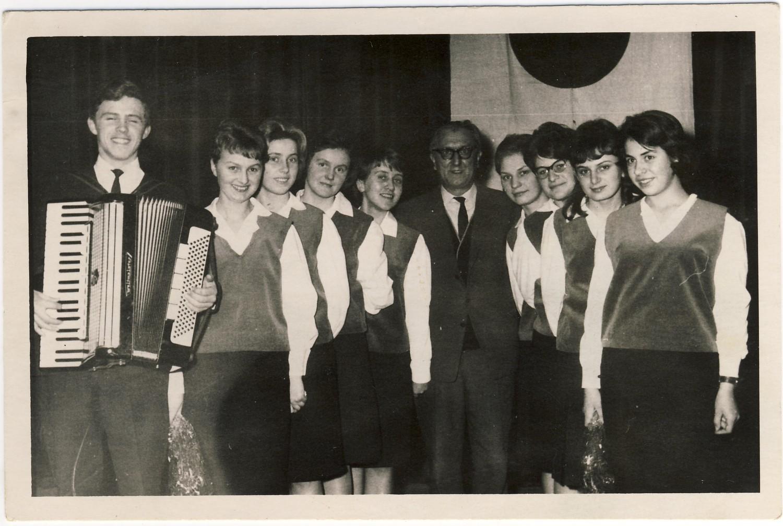 Zespół Wokalny kamerton przy Lic. Pedagog. w Lęborku 65r.